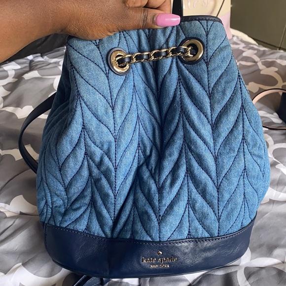 Jean Kate Spade Backpack